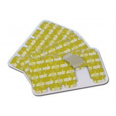 UNIVERSAL DISPOSABLE TAB ECG ELECTRODES 23x34 mm (Box of 100)
